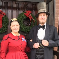 Christmas with the Lincolns at Jacob Henry Mansion